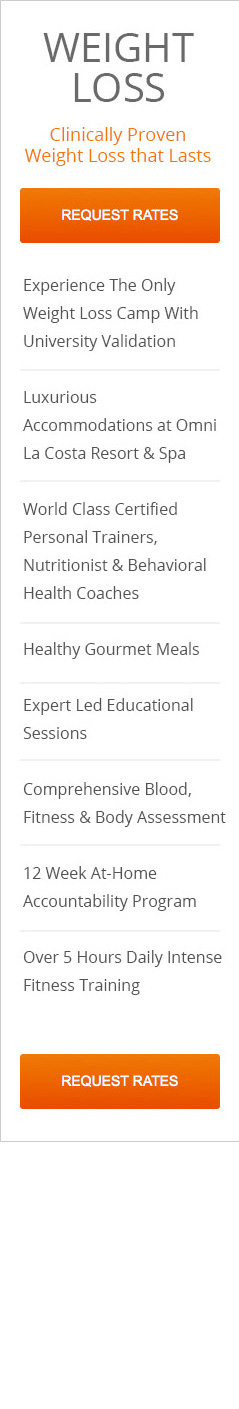 Pfc Fitness And Weight Loss Camp Program Rates
